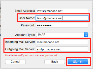 Step 3 - Add Email Information (Step 2)