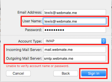 Step 3 - Add Email Information